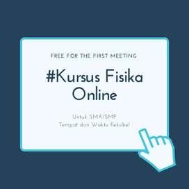 Kursus Online/offline fisika sma/smp