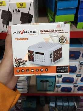 spiker/speaker bluetooth-pengeras suara advance portabel-berkualitas!