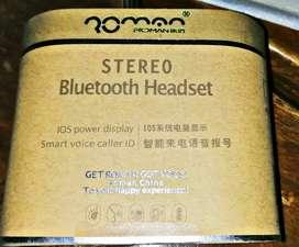 New Romano stylish  blutooth headset.