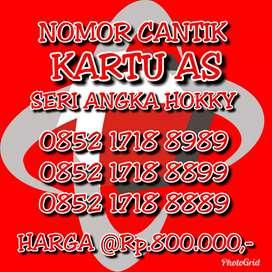 Dijual Kartu Perdana As Seri Angka Hoki