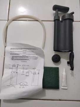 Miltract alat penyuling air TNI, alat penjernih air survival dan antik