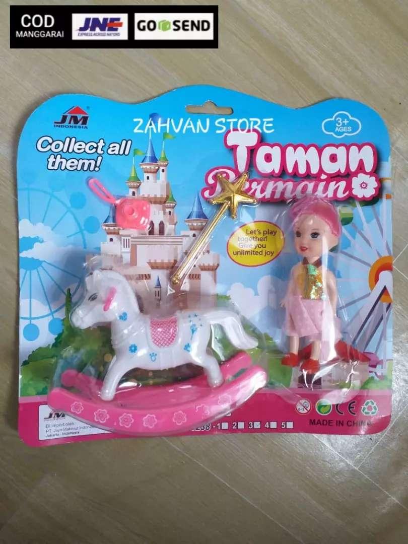 Boneka barbie mini set 0