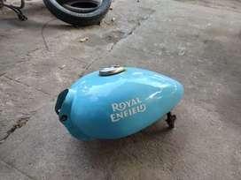 Royal Enfield tank