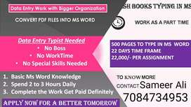 Apply now Home base deta entry part time job