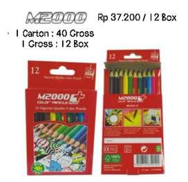 Pensil Warna M2000