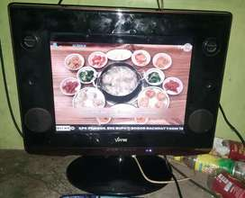 TV LCD Votre 15 inch Normal Bagus