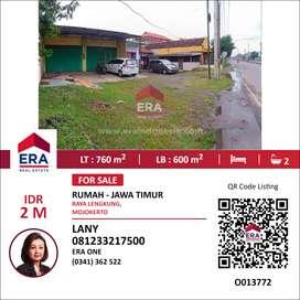 Dijual Rumah di Raya Lengkung