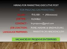 Marketing for PNG/CNG natural pipeline Gas domestic customers