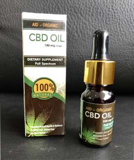 CBD Hemp Oil (Organic)
