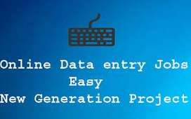 Simple Data Entry/Online work from home/Typing /Part / FuIl Time jobs