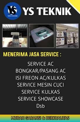 Service Ac Kulkas Mesin Cuci Freezerbox Dll