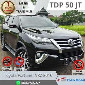 Toyota Fortuner vrz 2016 TDP 50 JT  Low km sangat istimewah
