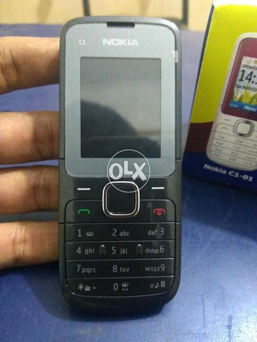 Nokia C1-01 PTA Approved Original Phone Box Pack with Free Delivery 0