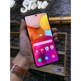 Samsung A71 8/128 mulus jual bt/tt sama iphone