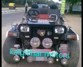 Modified tyota jeep