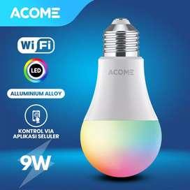 ACOME Lampu Bohlam Smart Wifi 9W RGB