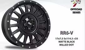 Velg Rr6 R17x8 H5.innova,rush,terios,crv