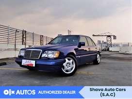[OLX Autos] Mercedes Benz E320 1994 A/T 3.2 Bensin Biru #Shava
