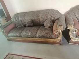 Sofa Sets for Urgent Sale Condition 10/8