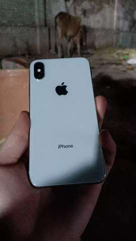 iphone x 256 gb ( white color )