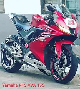 Yamaha R15 V3 2017 merah