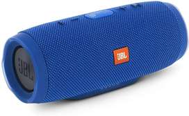 JBL Charge 3 Portable Speaker with Built-in Powerbank (Blue)