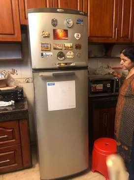 Whirlpool fridge 350l