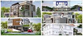 Jasa arsitek khusus rumah mewah di Pare Pare