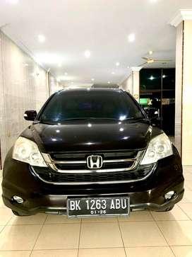Honda CRV 2.4 A/T Hitam Manggis 2010