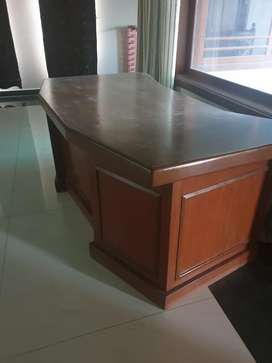 Office table wooden