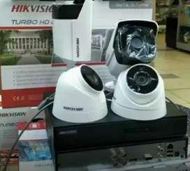 Paket CCTV komplit berikut pemasangan