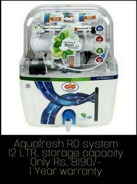 Aqua fresh ro filter