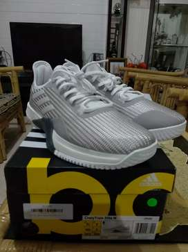 Dijual Adidas CrazyTrain Elite White [CP9391] Size UK 7 (40) BNIB