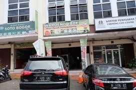 """Ruko Disewakan ex.Rumah Makan """"Waroeng Iboe"""" di Cibinong City Center"""