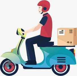 Delivery boys cum bikers required for mysore, Nanjangud, madikeri