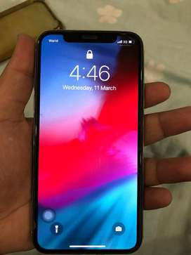 Iphone x 64gb with box and all accessories and all accessories are new