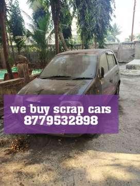 We buy old junk and scrap cars