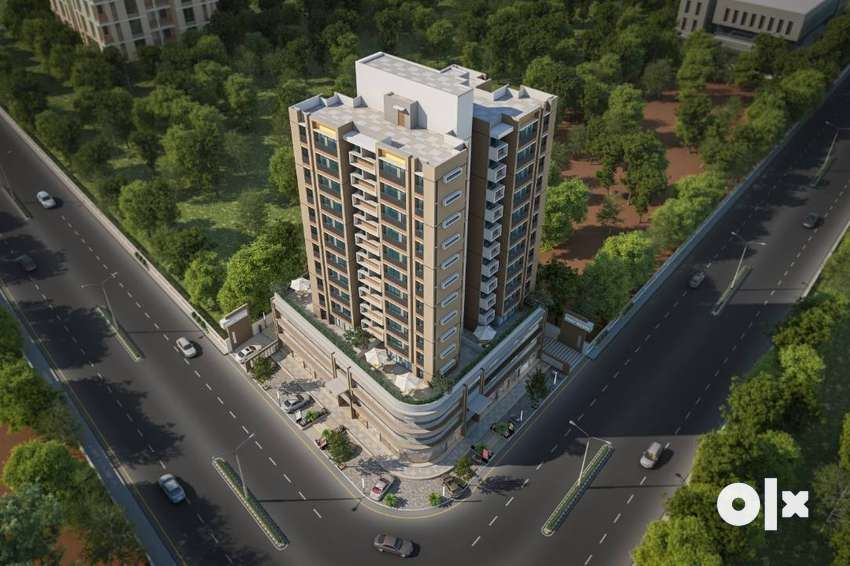 3BHK LUXURIOUS FLAT FOR SALE 30mtrs Ring Road@Vasna Bhayli Road 0
