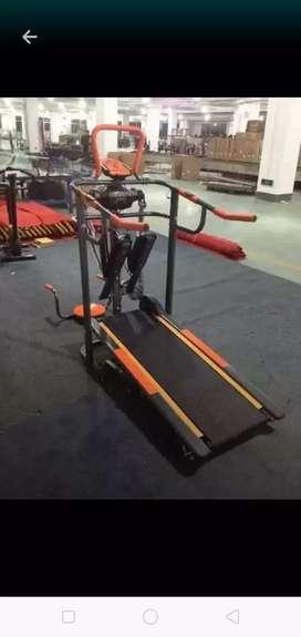 diaz ahmad fitness/jual alat olahraga/manual Treadmill 6F orens black