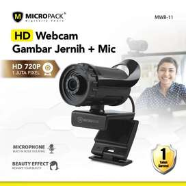 Webcam Micropack MWB-11 HD 720P 30FPS with Mic