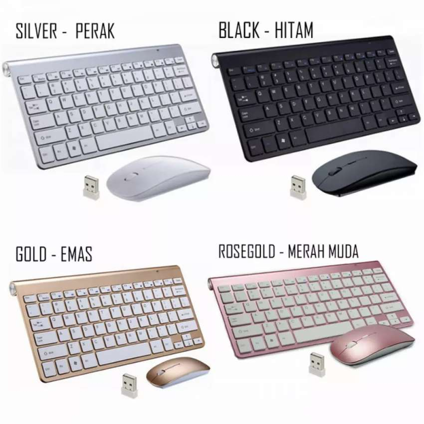 Keyboard Mouse Wireless OEM Apple FREE BATRE 0
