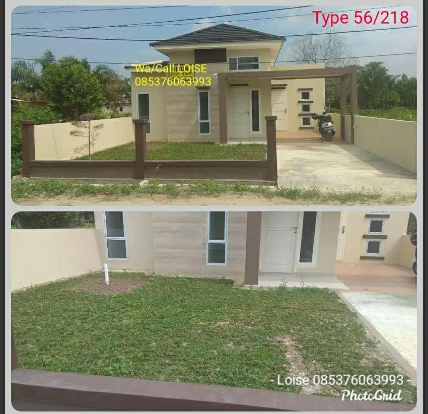 Rumah Baru Tunggal Type 56 Berkelebihan Tanah Panam 0