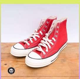 Sepatu Converse Chuck 70s Red Original Garansi Uang Kembali Lk.04