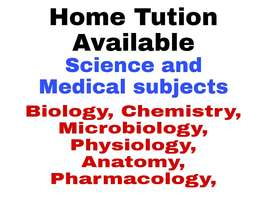 Science subjects and pre medical classes