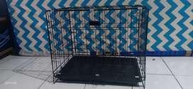 Kandang hewan kucing ukuran 60x45x55(02)