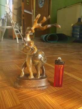 patung Gajah antik Bahan Resin