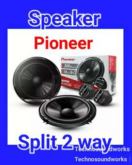 Paket audio Speaker Pioneer split 2 way 6,5 in for sound tv audio kaca