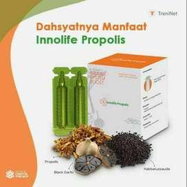 Innolife propolis solusi untuk kesehatan tubuh kita.