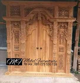 kundori pintu gebyok gapuro jendela untuk rumah gedung masjid musholla