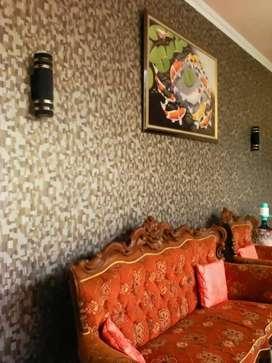 Wallpaper dinding hiasi rumah anda design nya sangat bangus
